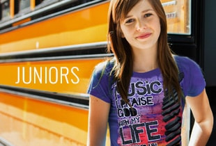 Shop Juniors T-Shirts at ChristianApparelShop.com