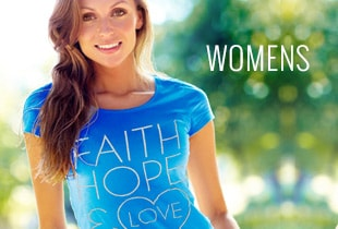 Shop Women's T-Shirts at ChristianApparelShop.com
