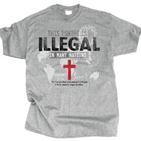 This Shirt Is Illegal In Many Nations T Shirt