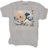 Fear Not Sea Wave Japanese T Shirt