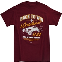Race To Win Corinthains Christian T Shirt