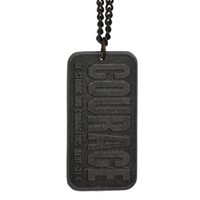 Courage Be Strong Courageous Dog Tag