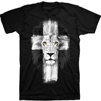 Lion Cross Fear Not Christian T-Shirt
