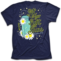 Let Your Light Shine Christian T Shirt