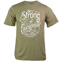 Be Strong And Courageous Christian T Shirt