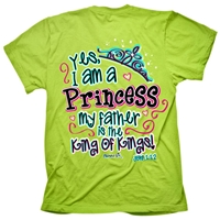 I Am A Princess My Father Is King Of Kings T Shirt