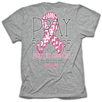 Pray For A Cure Cherished Girl T Shirt
