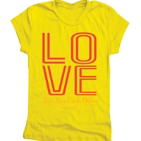 Lets Love Each Other Junior T Shirt