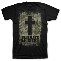 Ultimate Sacrifice Black Christian T Shirt