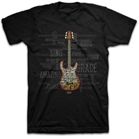 Amazing Guitar Christian T Shirt