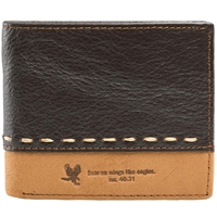 Soar On Wings Genuine Leather Wallet