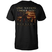 One Nation Under God Christian T-Shirt