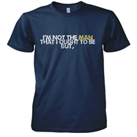 Thank God I'm Not The Man I Used To Be Christian T-Shirt