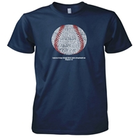 Baseball Philippians 4 13 Christian T-Shirt