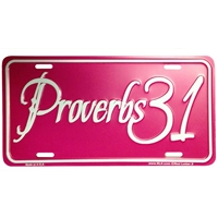Proverbs 31 Christian License Plate