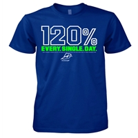 120% Every Single Day Christian T-Shirt