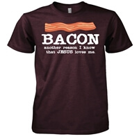 Bacon Christian T-Shirt