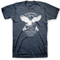 Transforming Lives | Eagle Christian T-Shirt