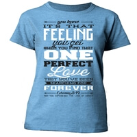One Perfect Love Christian T-Shirt