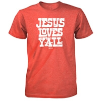 Jesus Loves Yall Christian T Shirt