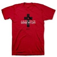 A Blood Donor Saved My Life Christian T Shirt