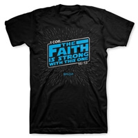 Faith Is Strong Christian T Shirt