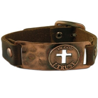 In God I Trust Christian Bracelet