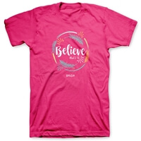 Believe Dont Be afraid Christian T Shirt