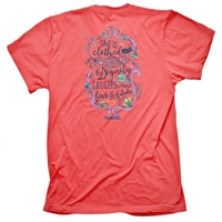 Strength And Dignity Christian T Shirt