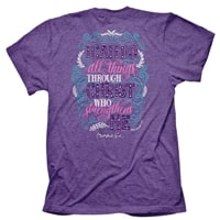 All Things Through Christ T Shirt