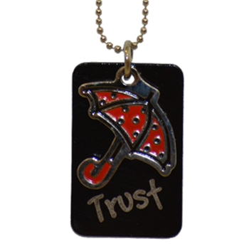 Trust Umbrella Dog Tag