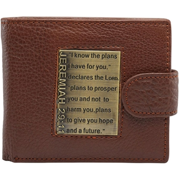 Jeremiah 29:11 Leather Wallet
