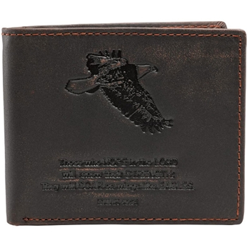 Isaiah 40:31 Genuine Christian Leather Wallet