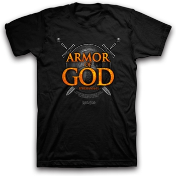 Armor Of God Ephesians 6:11 Christian T-Shirt
