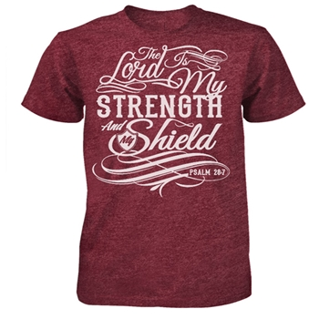 The Lord Is My Strength Christian T-Shirt