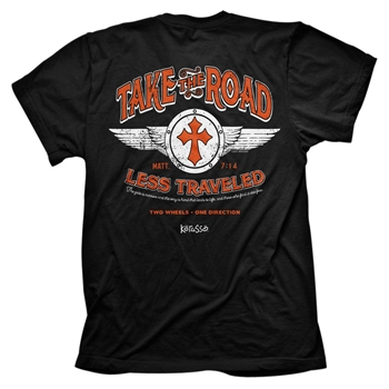 Take The Road Less Traveled Christian T Shirt