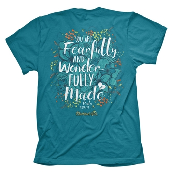Fearfully And Wonderfully Made Christian T Shirt