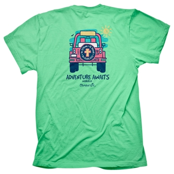 Adventure Awaits Cherished Girl Christian t shirt