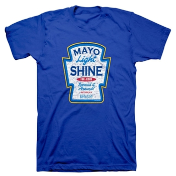 Mayo Light Shine Christian T-Shirt