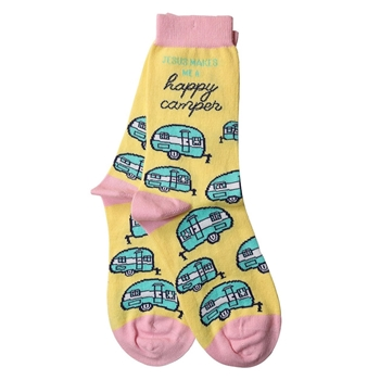 Happy Camper Christian Socks