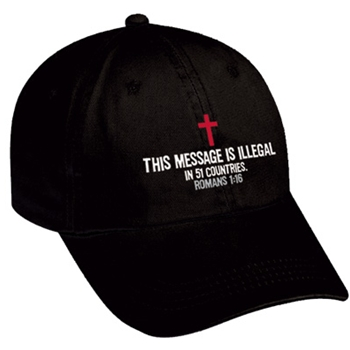 This Message Is Illegal Hat