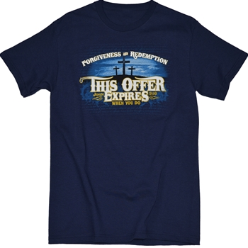 This Offer Expires Christian T Shirt