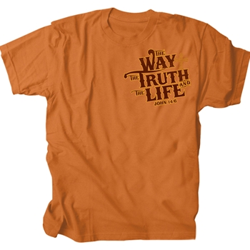 Way Truth Life Christian T Shirt