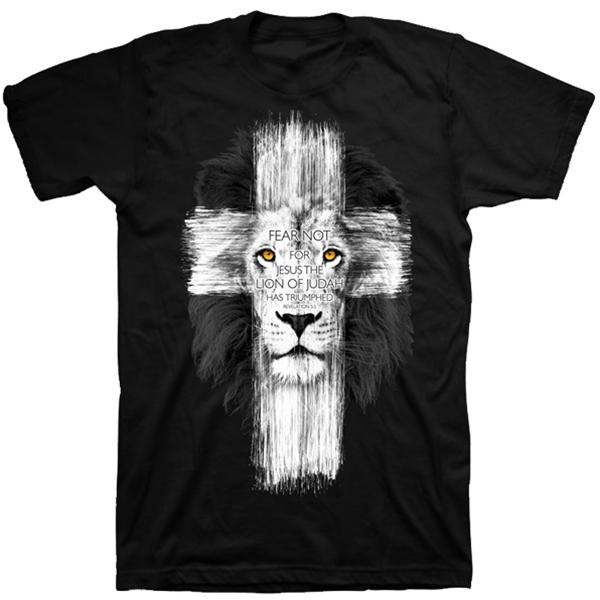 Fear Not Jesus The Lion Of Judah Has Triumphed Christian T-Shirt ...