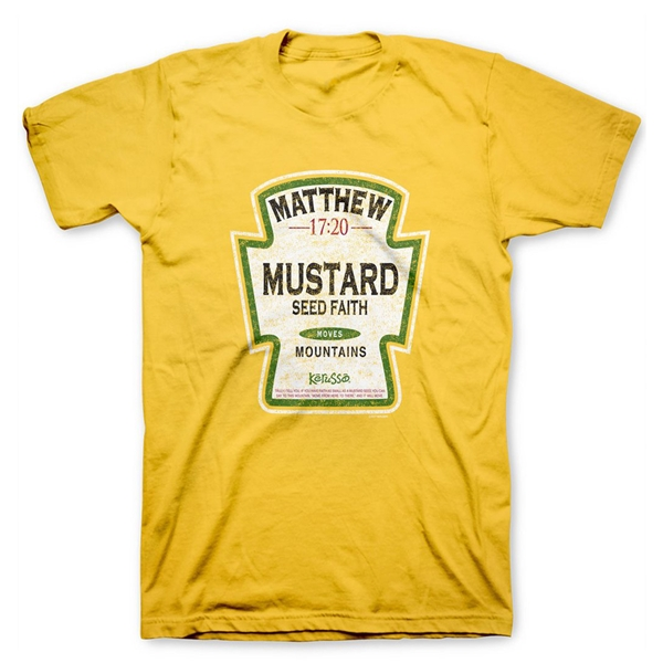 yet not vulgar outlet hot products Mustard T Shirt